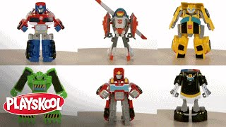 Playskool Heroes U.S. 2011 | Demo | Transformers Rescue Bots