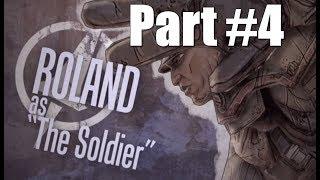 Borderlands Walkthrough Part 4 - Soldier Gameplay Commentary HD 1080p 60fps Playthrough