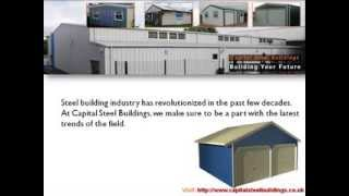 High Quality Steel Garages And Carports At Capital Steel Buildings
