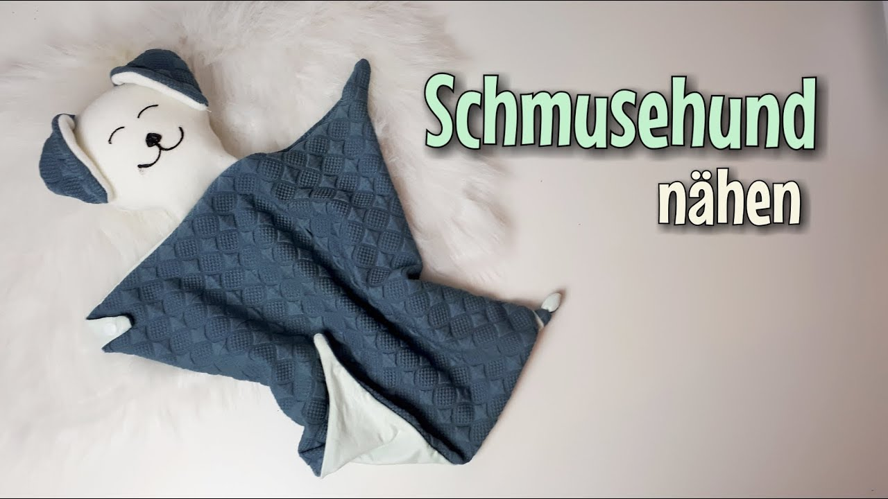 Häufig Schmusehund - Nähanleitung OHNE Schnittmuster - Für Anfänger RG95