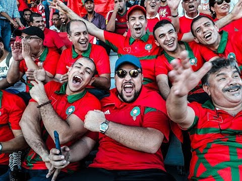 VLOG MAROC 2-0 COTE D'IVOIRE (RUSSIA 2018) - فلوغ المغرب 2ـ0 الساحل العاج كأس العالم روسيا 2018)