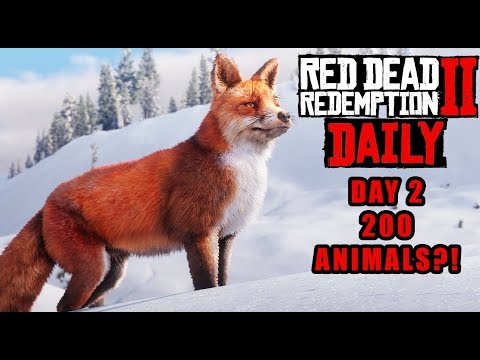 Red Dead DAILY #2 : OVER 200 ANIMALS! - Detailing the Wildlife of Red Dead Redemption 2