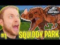 WELCOME TO SQUIDDY PARK!! - JURASSIC WORLD EVOLUTION #1