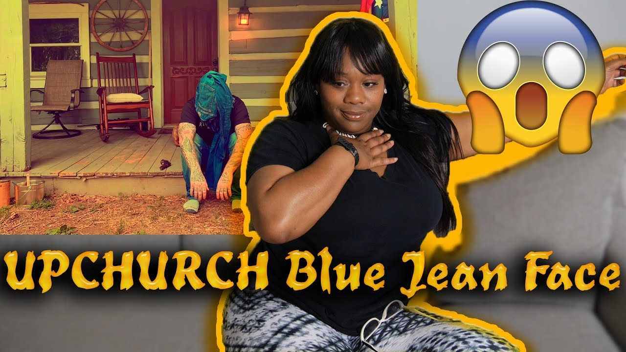"""Mom reacts to Upchurch """"Blue Jean Face"""" (Eminem Remix)   Reaction"""