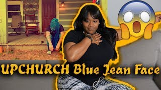"Mom reacts to Upchurch ""Blue Jean Face"" (Eminem Remix) 