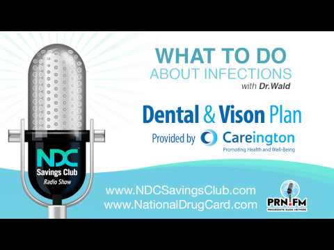 NDC Savings Club Radio Show -  What to do about infections, Careington