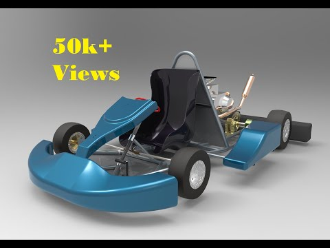 Go Kart Chassis - YouTube