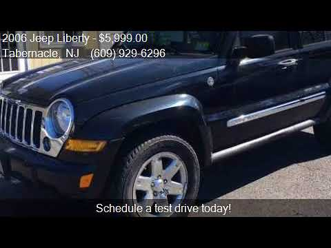 2006 Jeep Liberty Limited 4dr SUV 4WD for sale in Tabernacle