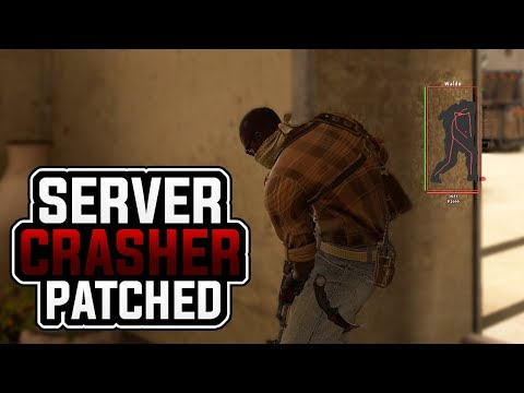 CS:GO  Server Crasher PATCHED