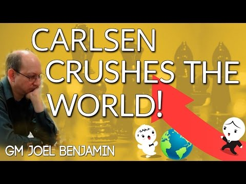 Carlsen crushes The World and the King's Indian Defense - GM Joel Benjamin - ICC