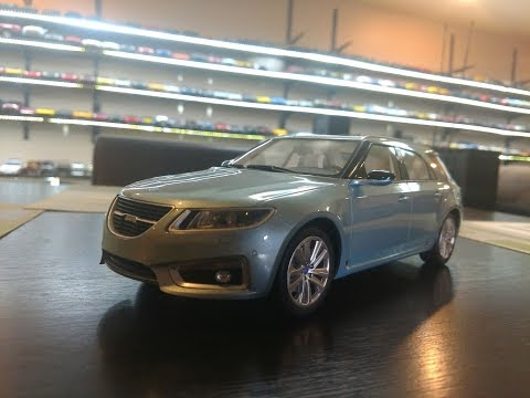 1:18 Diecast Review of the Saab 9-5 Combi by DNA Collectibles
