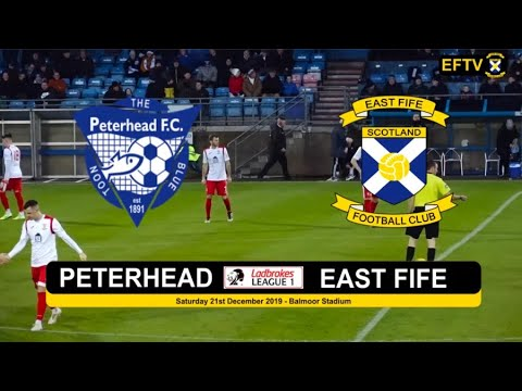 East Fife Peterhead Goals And Highlights