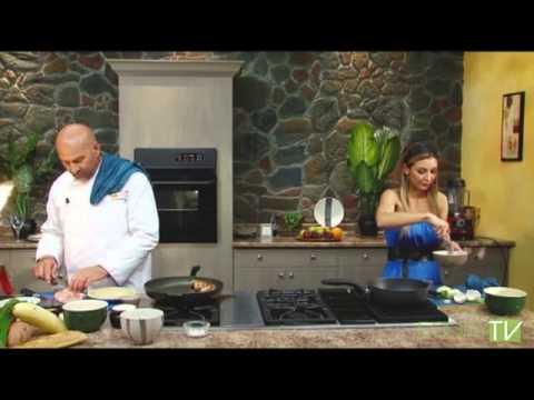 The Flaming Greek - Stuffed Pork Chop