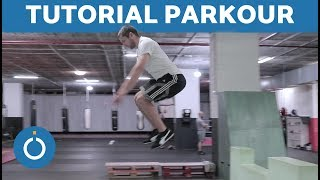 PARKOUR for Beginners - How to LAND Step by Step