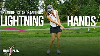 Lightning Hands for Solid Irons & More Distance