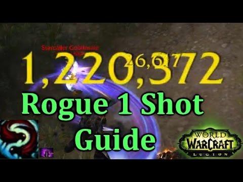 Ω Sativ   Subtlety Rogue 1 Shot Guide - Duels & World PvP [Legion PvP] [7.0.3]