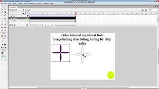 tutorial  bola bergelinding dan baling-baling