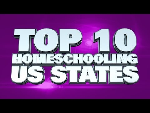 Most Homeschool-Friendly States In The USA 2014