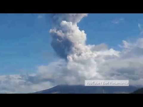 Mayon volcano eruption kills five climbers in Philippines