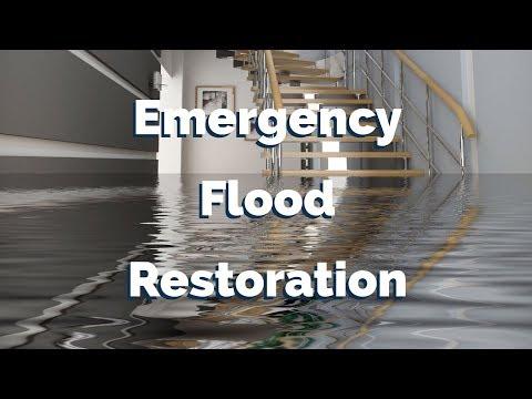 Emergency flood Restoration South Seattle WA