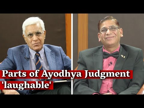 Parts of Ayodhya Judgment 'laughable', Different Standards of Proof 'Unfair': Faizan Mustafa