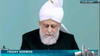 (Urdu) Friday Sermon 29th April 2011, Faith inspiring stories of new converts to Islam Ahmadiyya