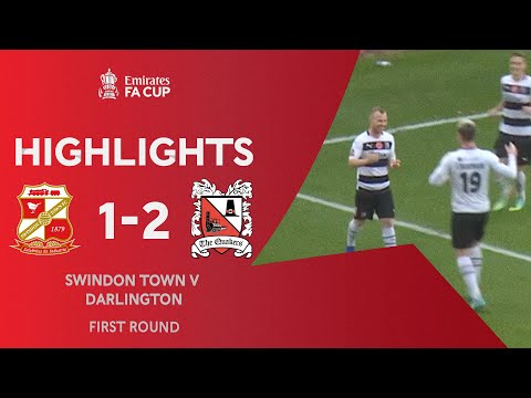 Swindon Darlington Goals And Highlights