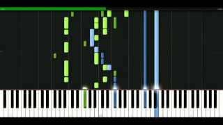 Rainbow - Street of dreams [Piano Tutorial] Synthesia | passkeypiano