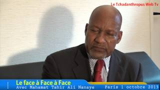 Download Video Le Face à Face avec Mr Mahamat Taher Ali Nanaye MP3 3GP MP4