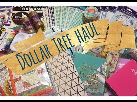 Dollar Tree Haul |  Stationery & Crafts!