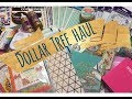 Dollar Tree Haul |  Stationery & Crafts!