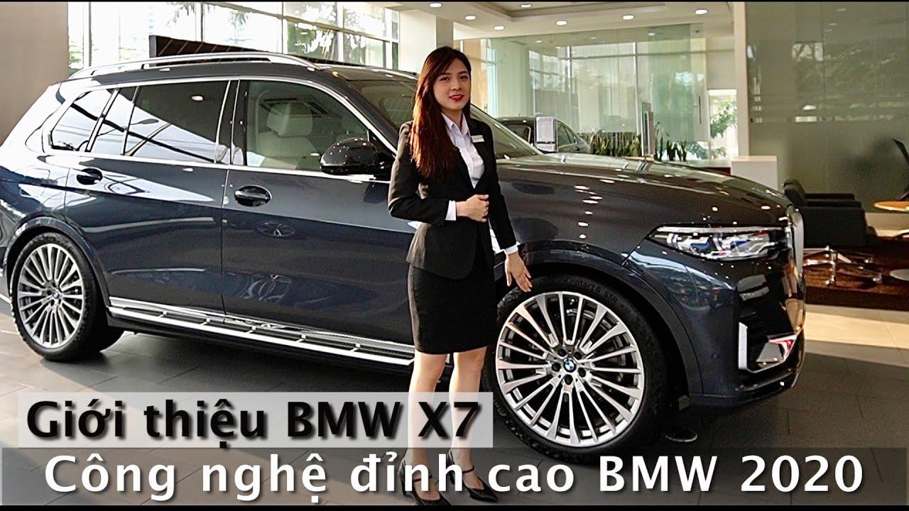Giới thiệu BMW X7 2020   Chiếc xe SUV đầu bảng của nhà BMW   Cộng nghệ - tính năng mới nhất BMW 2020