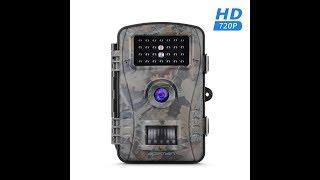 Recensione ITA APEMAN Gioco & Trail fotocamera HD impermeabile 26 LED a basso impatto
