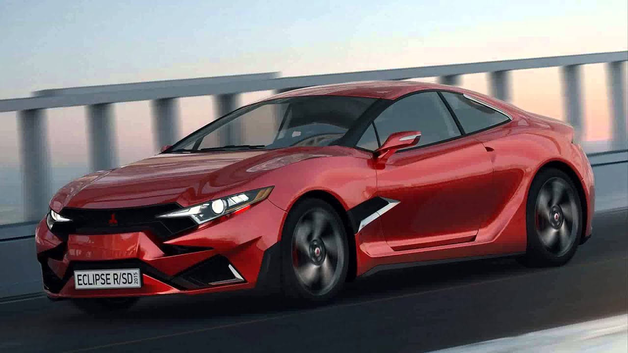 Mitsubishi Eclipse 2015 >> 2015 Model Mitsubishi Eclipse Rsd Concept Youtube