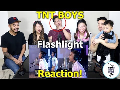 TNT Boys - Flashlight | Reaction - Australian Asians