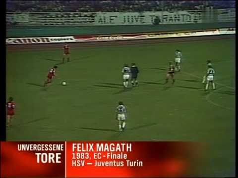 Felix Magath - Siegtor HSV gegen Juventus Turin 1983