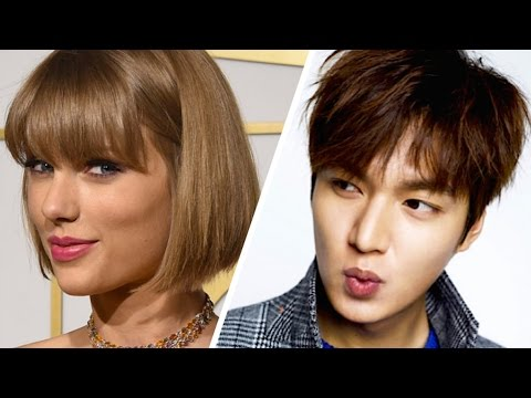 TAYLOR SWIFT DATING LEE MIN HO?