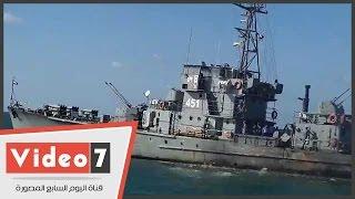 بالفيديو.. قوات خفر السواحل تقوم بالبحث عن جثث ضحايا مركب رشيد