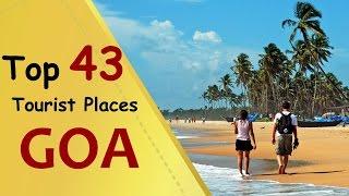 """""""GOA"""" Top 43 Tourist Places   Goa Tourism"""