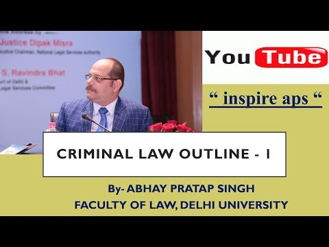 CRIMINAL LAW OUTLINE -1