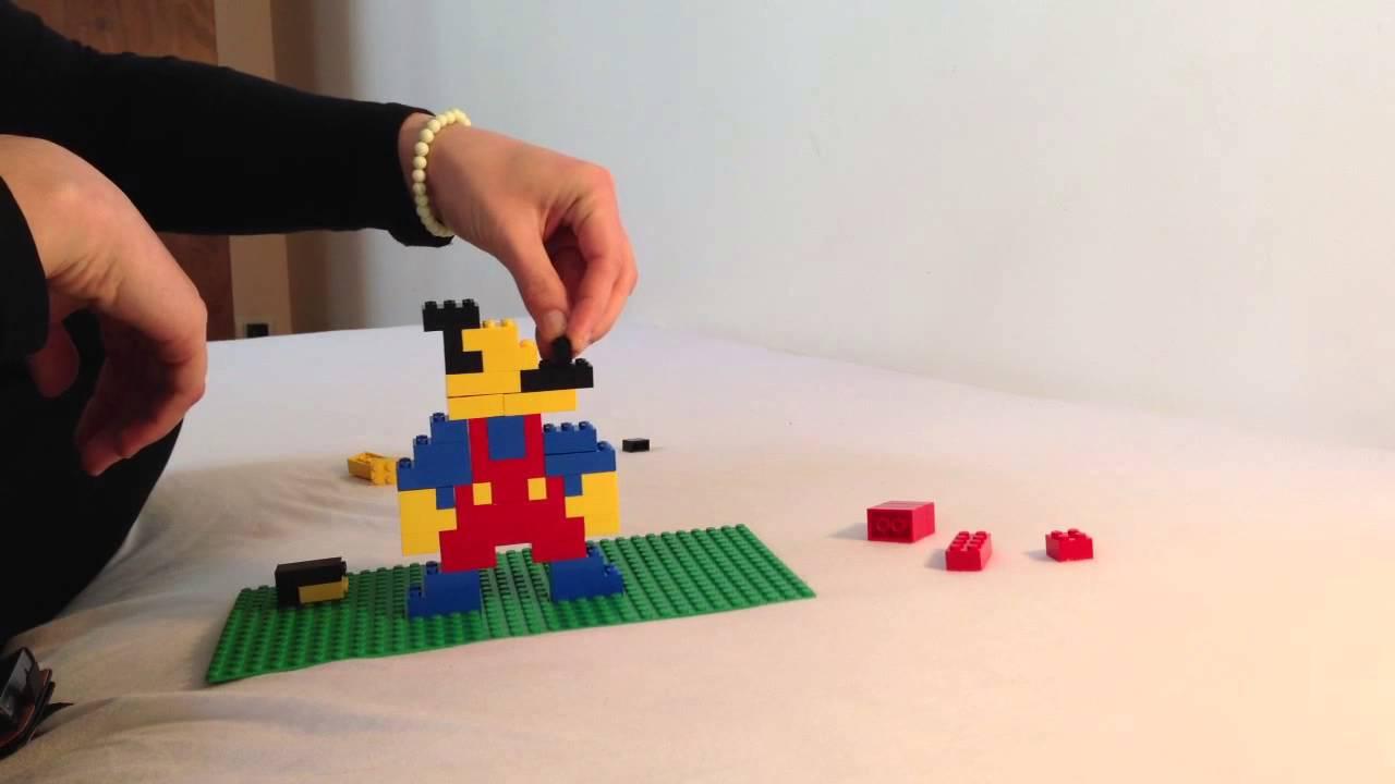 Faire mario en lego construire mario avec des briques de - Comment faire des bougies maison ...