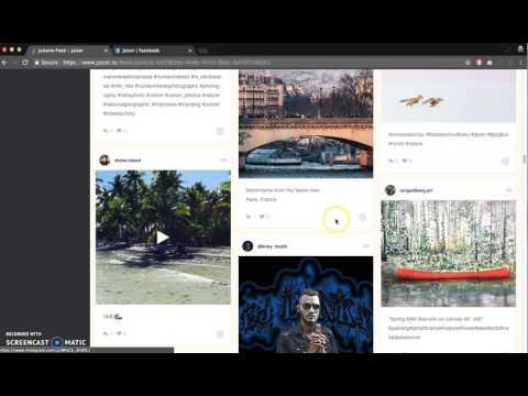 Creating a Juicer Social Media Feed