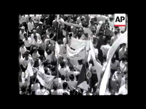 ARAB PROTEST - (GENERAL STRIKE)