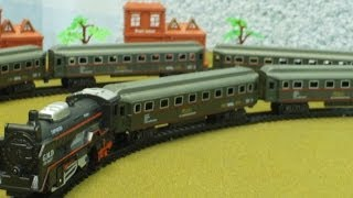 Video for Children Toy TRAINS Rail King Long Train for Kiddies Videos