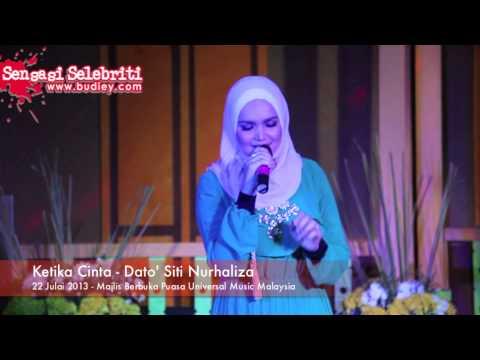 Ketika Cinta - Dato' Siti Nurhaliza di Majlis Berbuka Puasa Universal Music