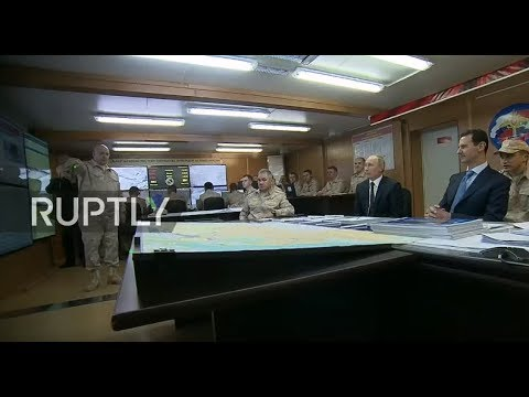 REFEED -  President Putin paying surprise visit to Khmeimim Airbase