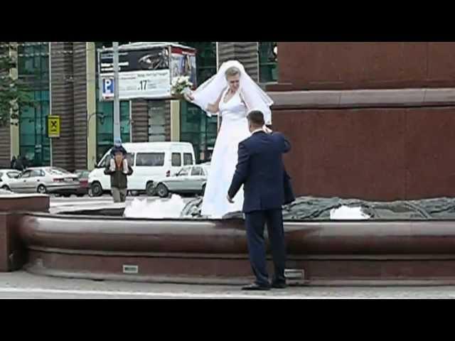 Königsberg / Kaliningrad - Hochzeitspaar [1] 2009