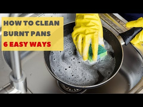 6 Easy & Natural Ways to Clean Burnt Pans and Pots