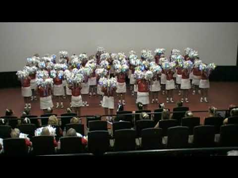 The Villages Cheerleaders POMS show 2019