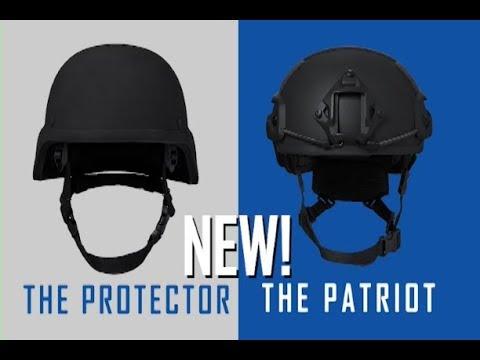 NEW!  Armored Helmets!  AR500 Armor